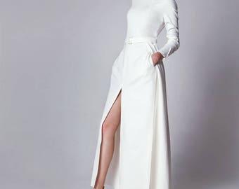 "Dress ""Tamara"" / White dress / Evening dress"