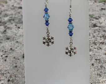 Snowflake Frozen Earrings