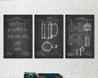 Beer Wall Decor craft beer art | etsy