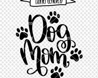Dog mom SVG, dog mama svg, dog svg, pawsitive svg, SVG, Digital cut file, kids have fur svg, puppy svg, mom svg, pup svg, commercial use OK