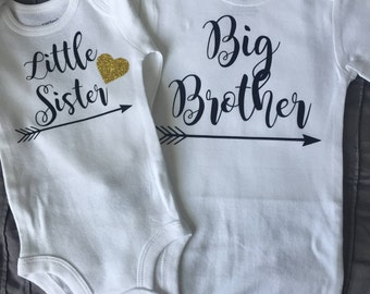 Big Brother/Little Sister Shirts