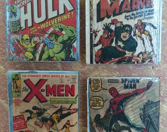 Marvel Classic Covers Magnet Set