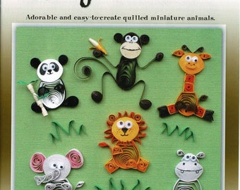 Jungle Buddies quilling kit by Quilled Creations
