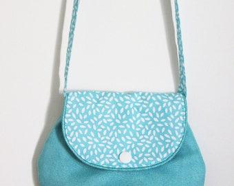 Turquoise bag for girl
