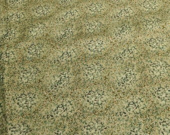 Fusions Metallic-Leaf-Cotton Fabric from Robert Kaufman Fabrics