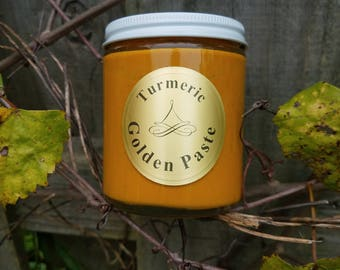 8oz Golden Turmeric Paste