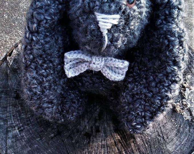 Crochet Amigurumi Stuffed Bunny (Logan)