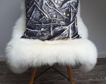 "Cushion cover ""Roots"""