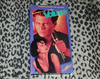 Pump Up The Volume [VHS] 80s Movie Cult Classic Pirate Radio Movie Comedy VHS Tape Christian Slater Vhs