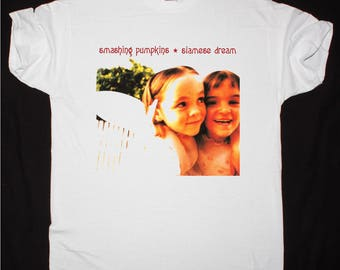 The Smashing Pumpkins Siamese Dream white t shirt
