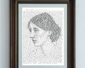 Virginia Woolf, in her own words - a portrait of the beautiful artist with her short story Kew Gardens
