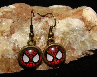 SPIDERMAN Hook  Earings