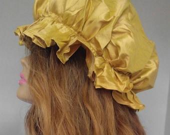 100% Silk Sleep Hat| Silk Hair Cap| Silk Sleep Cap| Silk Hair Bonnet| 100 Percent Silk|Silk Hat| Silk Cap| Silk Bonnet|100 Percent Silk