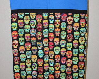 Trick or Treating Bag (Day of the Dead Pillowcase)
