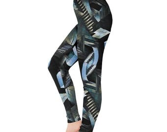 Within You leggings -  Labyrinth Leggings Stairway leggings Beyond The Goblin City Comicon leggings Geeky leggings Plus Size leggings