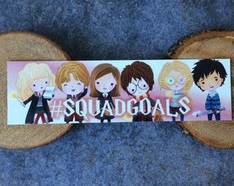 SquadGoals Bookmark - #SquadGoals