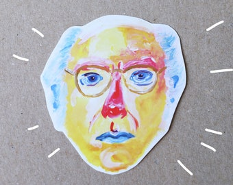 Larry David - sticker