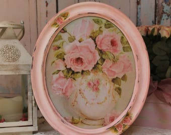 Garden Roses ~ Vintage~Shabby Chic~Country Cottage style~Wall Decor Sign