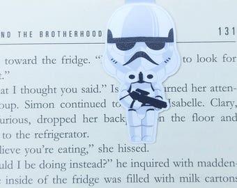 Sandtroopers - Magnetic bookmark || stormtrooper | boyfriend gift | bookmark | bookish | bookmarks | star wars | magnetic bookmarks