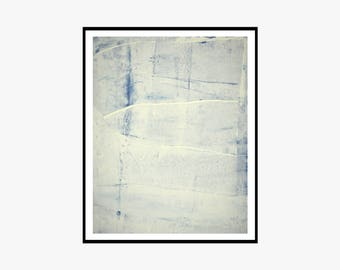 Neutral Blue and White Printable Art Print Wall Art Modern Printable Abstract Gallery Wall Art Minimalist 11 x 14 Instant Download