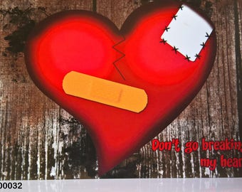 Mended Heart - Valentine Card