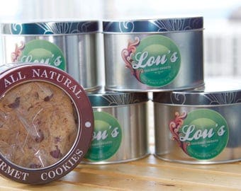 Chocolate Chip Cookie Tins