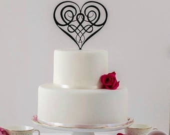 celtic wedding cake toppers uk celtic wedding rings etsy 12477