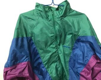 adidas 90s. Vintage Adidas Windbreaker Jacket Size M-L Free Shipping 90s Sportwear Retro Hipster