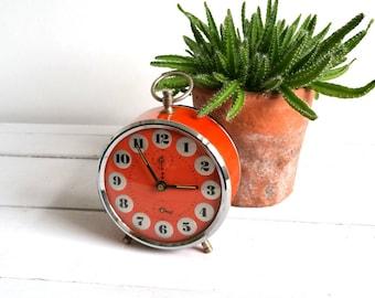 Old Dutch alarm clock 'Hema' red