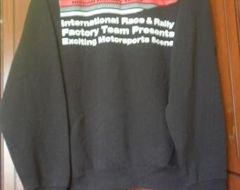 On  Sale!! Vintage Nismo Sweatshirt//Nissan Racing Team//Big Logo Spellout
