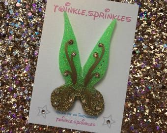 Tinkerbell inspired fairy wings with Swarovski crystals