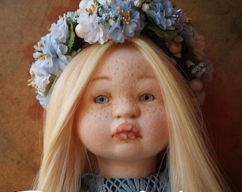 Sold! Textile art doll / OOAK doll / Interior doll / Doll for gift