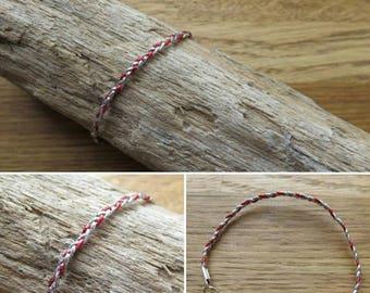Braided bracelet braided 16359