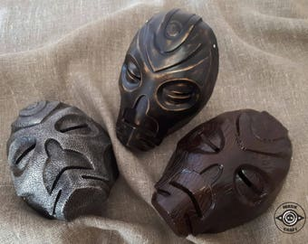Inspired Dragon Priest Mask Skyrim, Handmade Prop Replica The Elder Scrolls V: Skyrim, Wooden Mask, Morokei,  Krosis, Halloween costume.