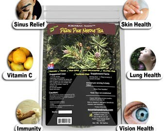 Piñon Pine Needle Tea Organic Wild Harvested - Picked At Time of Order - Net Wt 2oz