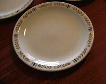 Mid-century Homer Laughlin, Best China, U.S.A. KE  Six (6) Dinner Plates
