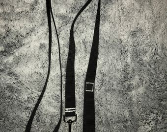 Black Dog Leash, Puppy, Nylon Material, Training, 6 foot