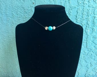 Loosh & Co Turquoise Choker