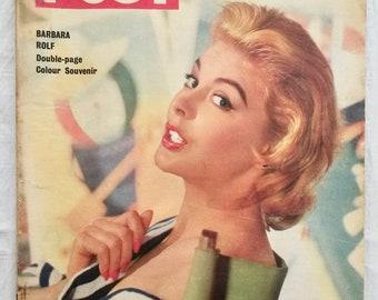 11950s Magazines, Vintage Fashion Magazine, News, Picture Post, 1955 Publications