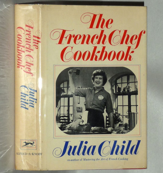 The French Chef Cookbook 1968 by Julia Child - 1st Edition Hardcover HC w/ Dust Jacket DJ - PBS Television Series