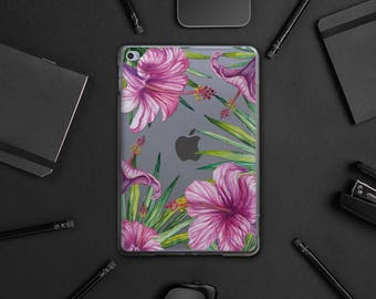 Secret Garden Case Ipad Pro 9.7 Floral iPad 4 Case iPad Mini Case iPad Air 2 Cover Clear iPad Pro Case iPad Air 3 Case Clear Case WA020