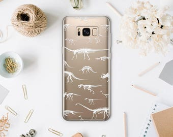 Dinosaurs Phone Case For Samsung Galaxy S8 phone Case Samsung Galaxy phone S8 Plus Case For Samsung Note 7 Clear Case Phone S6 Samsung SA076