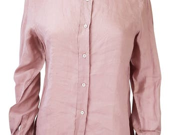 TED LAPIDUS Pink Button Up Shirt (UK 10)
