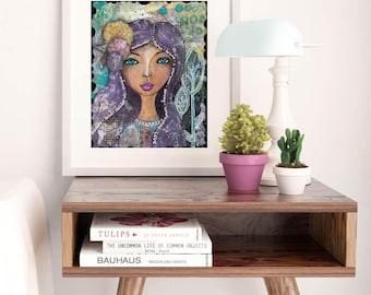 I AM LOVE | Inspiring Fine Art Print