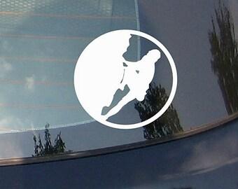 Climbing Expedition-Adventure Car Sticker Decal with Mountains, Vinyl Sticker, Bumper Sticker, Vinyl Decal, Car Window Decal, Laptop Sticker