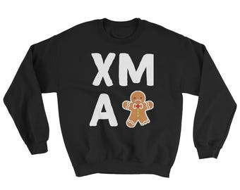 Christmas Gingerbread Man Xmas Holiday Sweatshirt