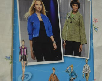 Simplicity 2558 Misses Jacket with Front Variations Sewing Pattern - UNCUT - Size 12 14 16 18 20