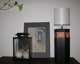 """Table lamp with Shell pattern """"Bansin"""""""