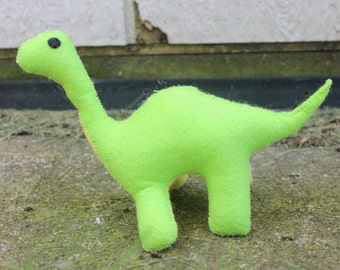 Felt Brontosaurus Dinosaur