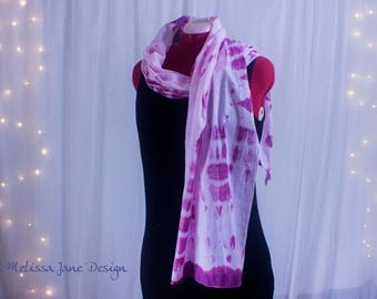 Handmade Hand Dyed 100% Cotton Scarf